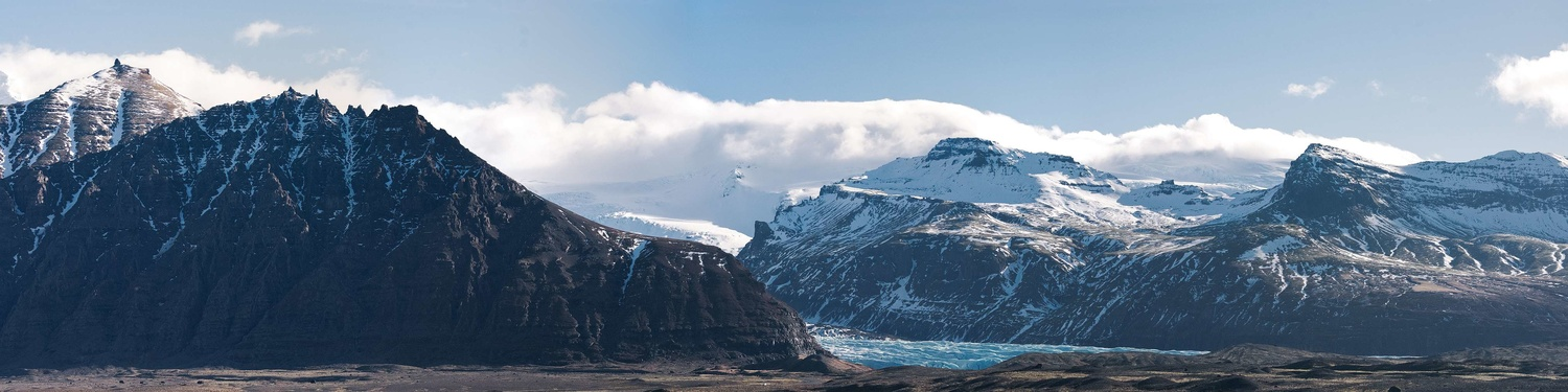 Mountain Panorama of Iceland by Liam Searson