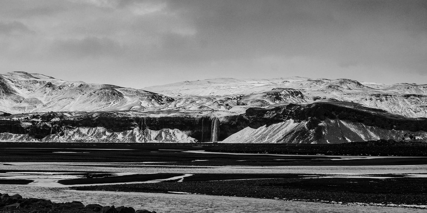 Black and White Iceland by Liam Searson