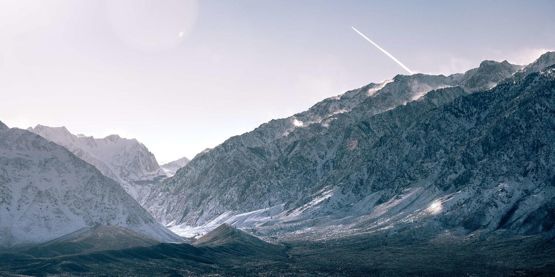 Dramatic Sierra Nevadas by Liam Searson