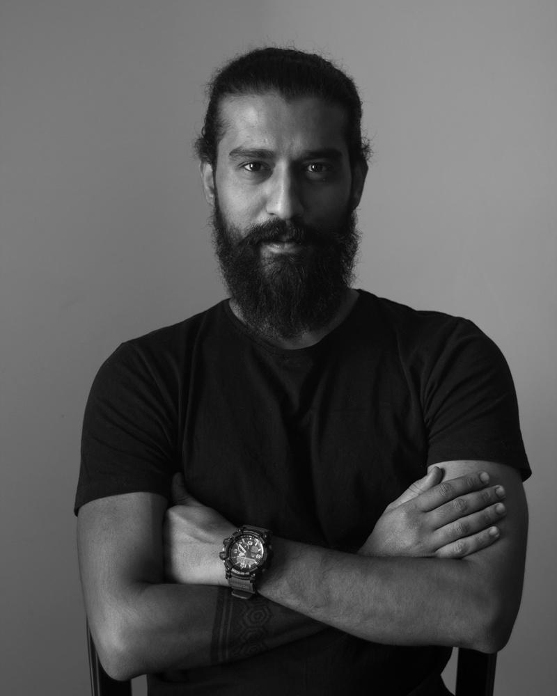 BnW Portrait - 3 by Kabir Karnale