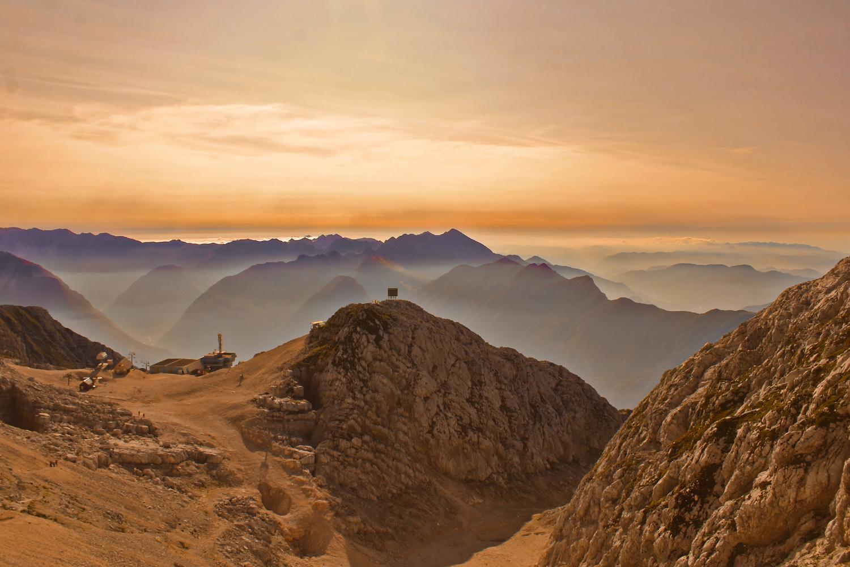 Morning in the Alps by Jana Čendak