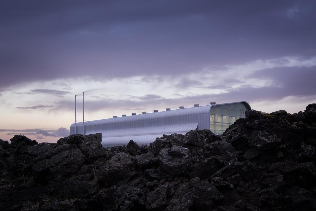 Reykjanesvirkjun by Mike Kelley