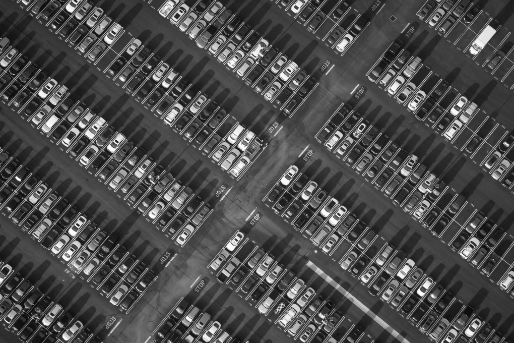 Los Angeles From Above by Mike Kelley