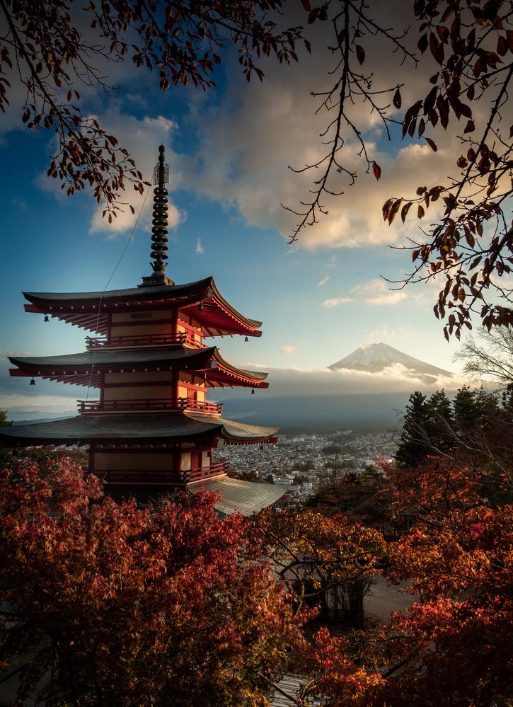 Pagoda by Jerzy Wolochowicz