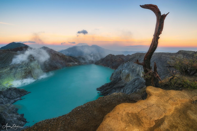 Ijen Volcano by Aws Zuhair