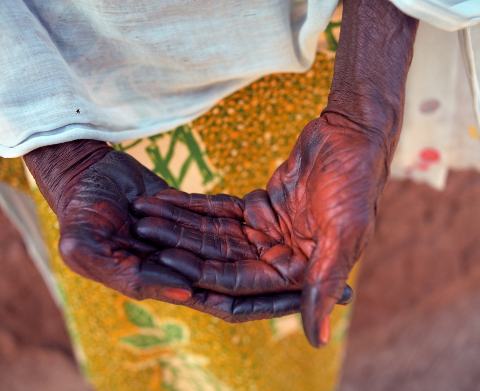 Red Hands of the Magazea of Gushie by Adam Ottke