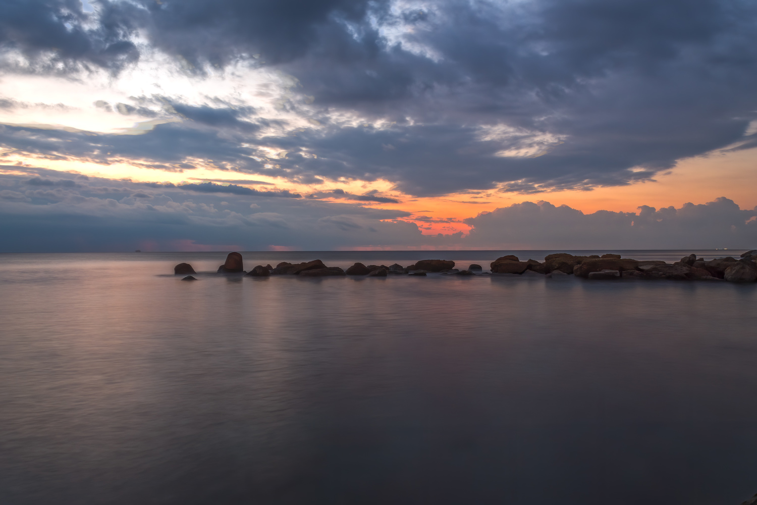 Morning sunrise by Luca Campioni