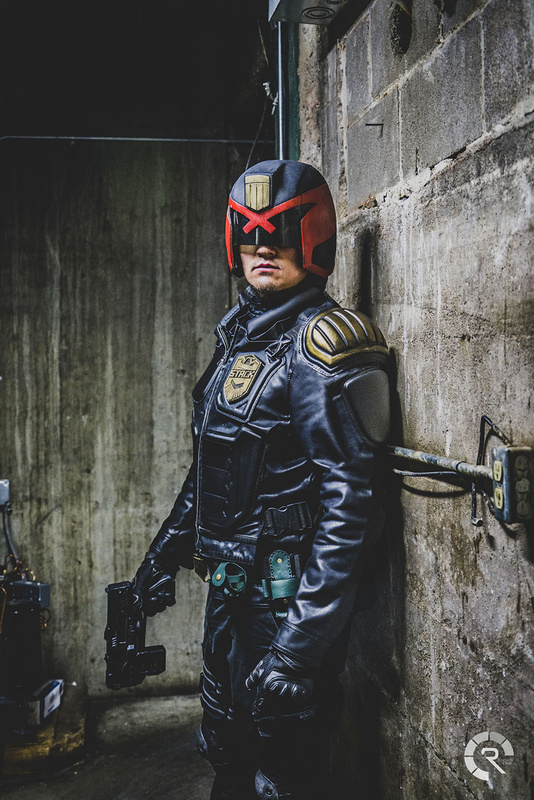Judge Dredd (Stack) Cosplay by Raymond Craig