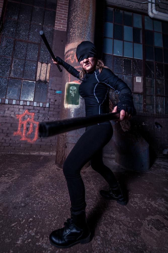 Lady Daredevil by Raymond Craig