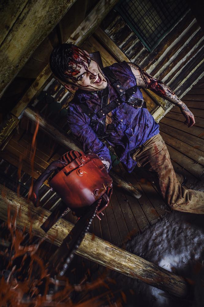 Evil Dead Ash Cosplay by Raymond Craig