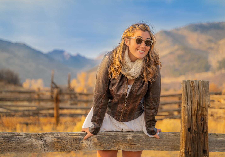 Lydia the Ranch Girl by John Fitzpatrick