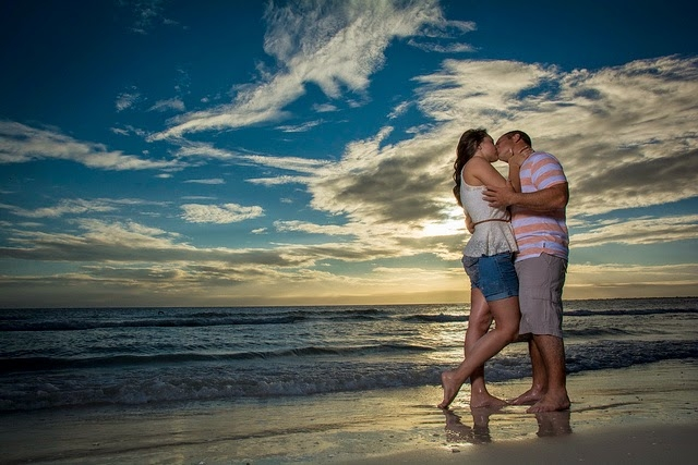 ft myers beach engagement by Mario Gonzalez