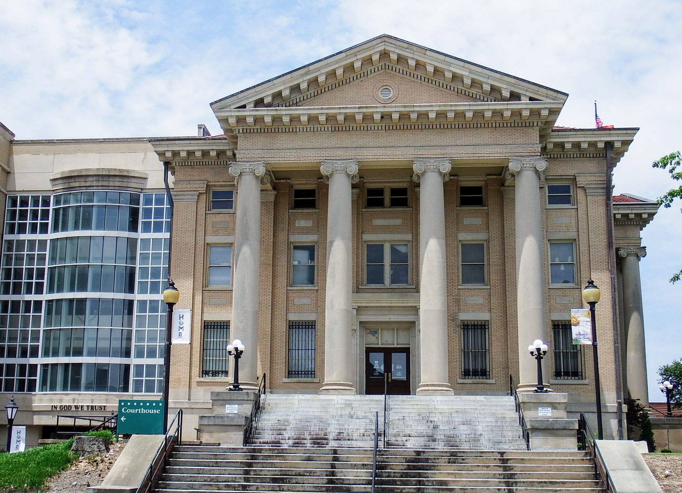 Wayne County Courthouse by Michael Lewis
