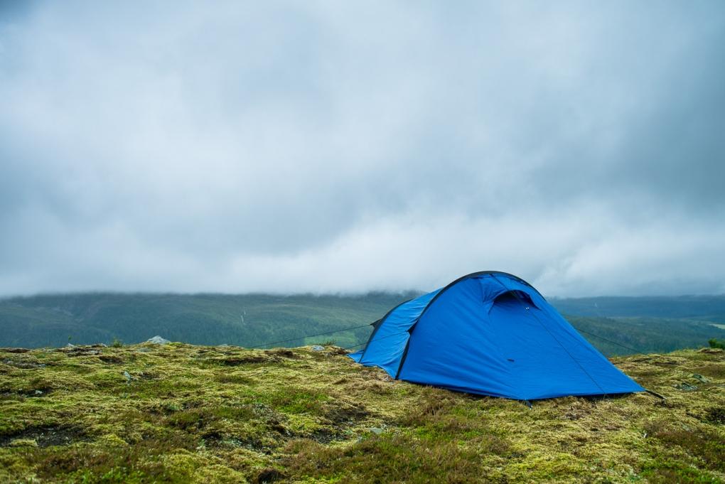 Camping by Thomas F