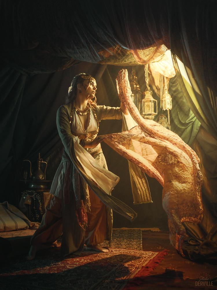 Orientalism - The Ghawazee dancer by Studio Derville