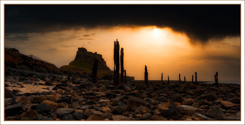 Pillars of Lindesfarne by Anthony Hepworth