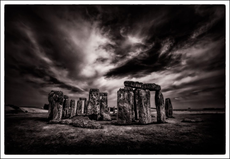 On Salisbury Plain by Anthony Hepworth
