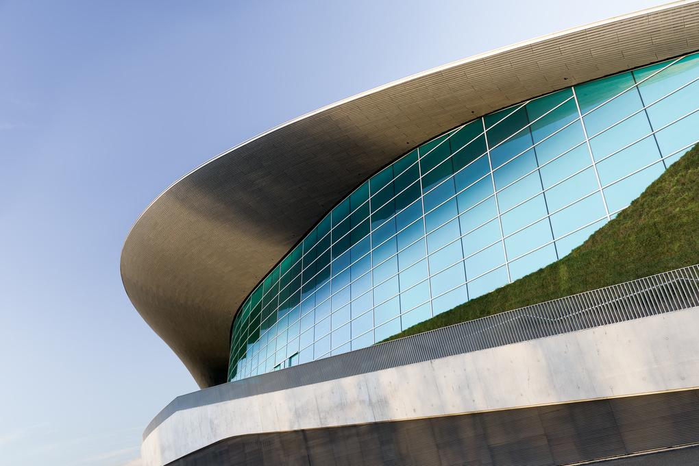 Aquatics Centre London 2012 by Jun Dang