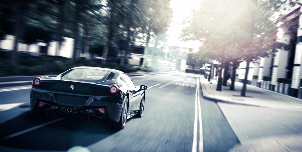 Ferrari 458 by Jun Dang