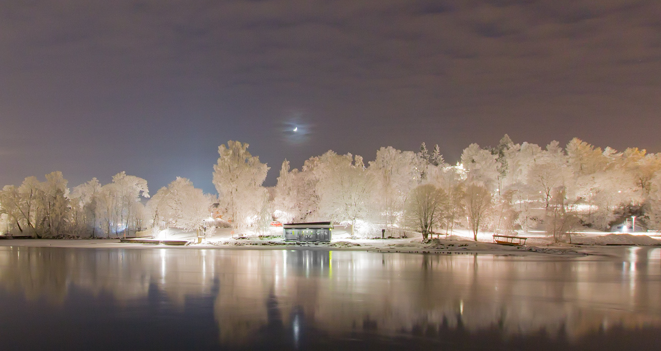 Tammerkoski upriver by Sami Kaukolinna