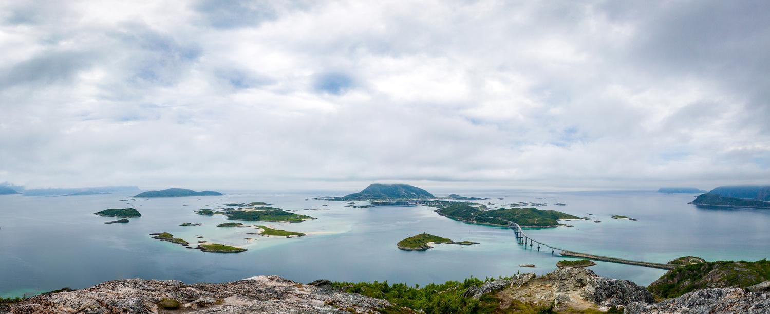 A view toweard arctic ocean by Sami Kaukolinna