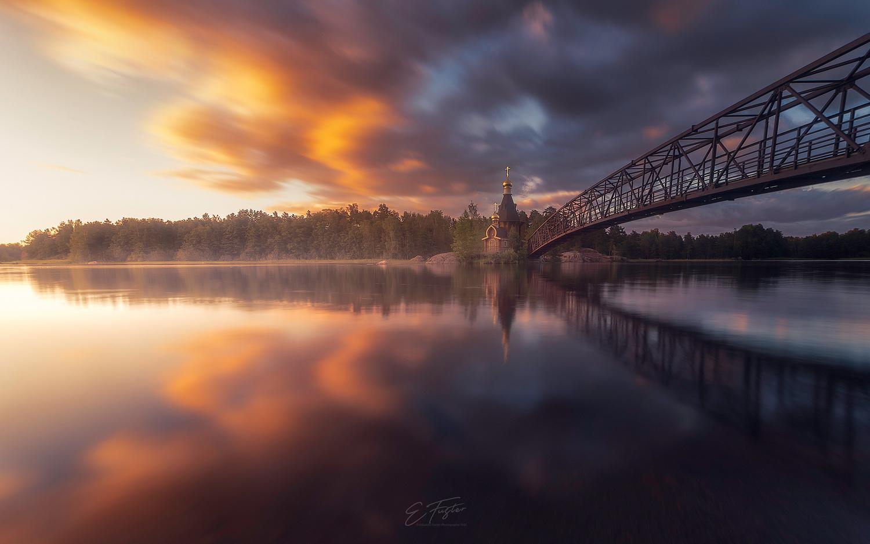 Holy Sunset by Eduardo Fuster