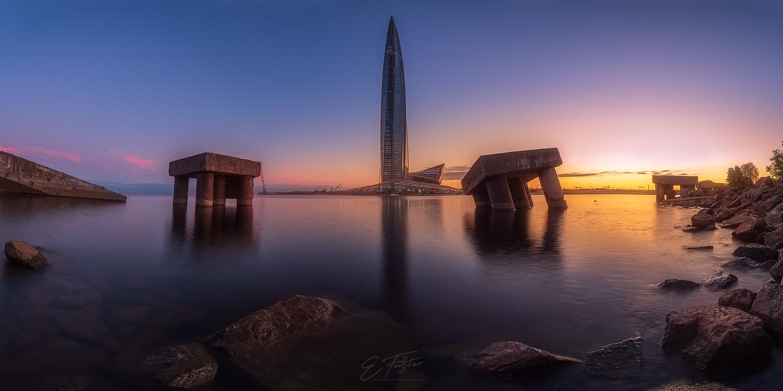 Gazprom Tower by Eduardo Fuster