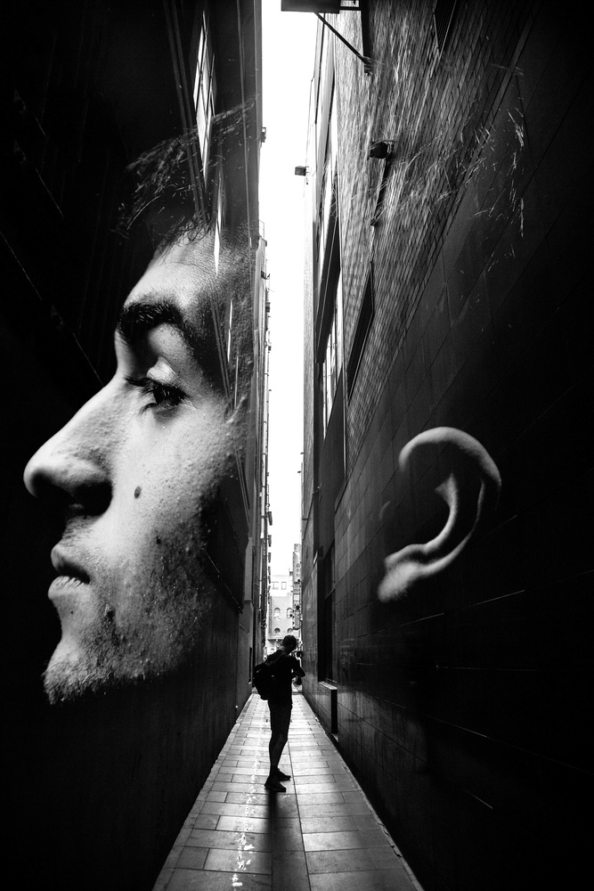 Double Exposure Portrait by Darcy Stack