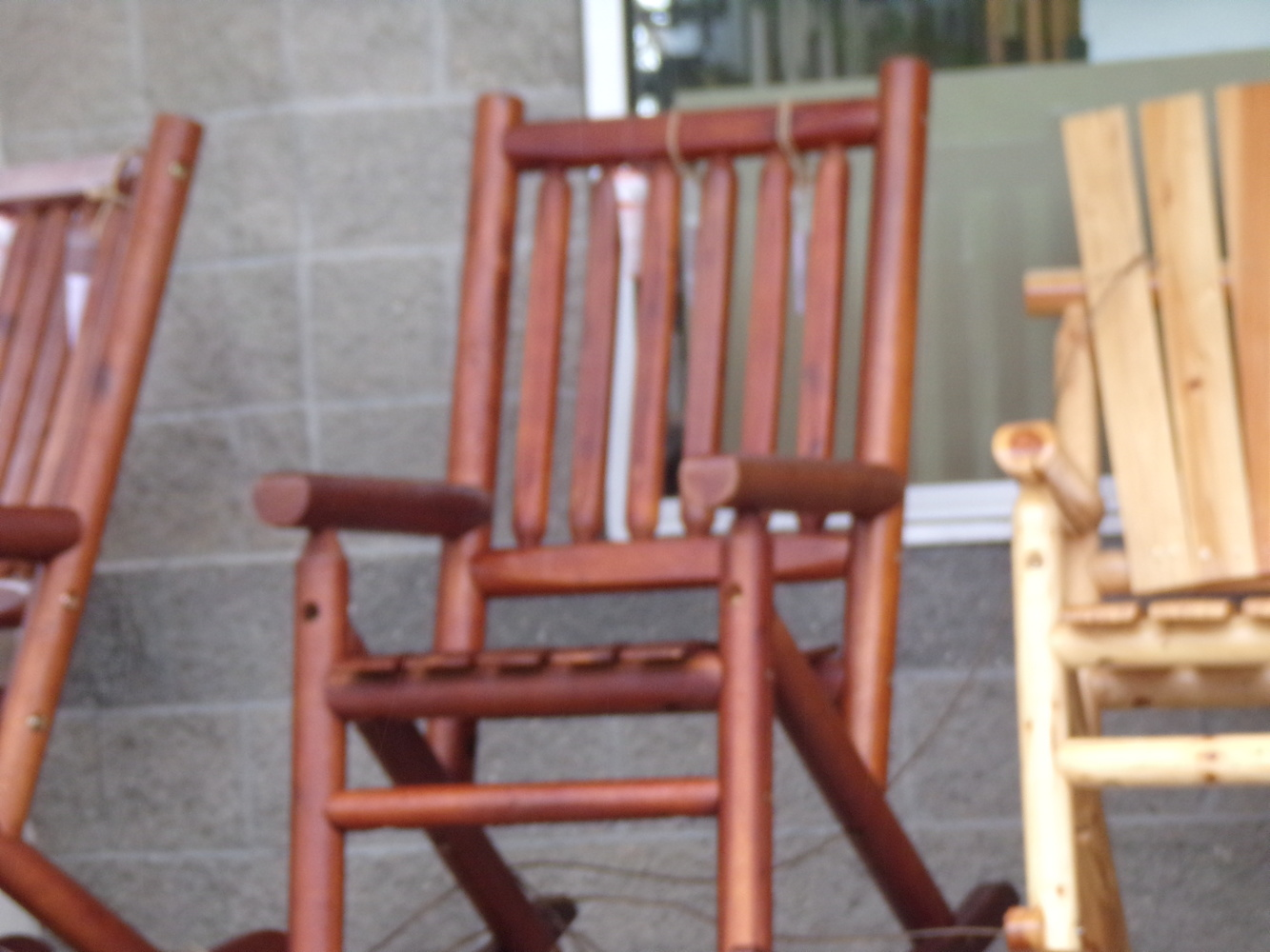 Rocking chairs by Tammy Higgins