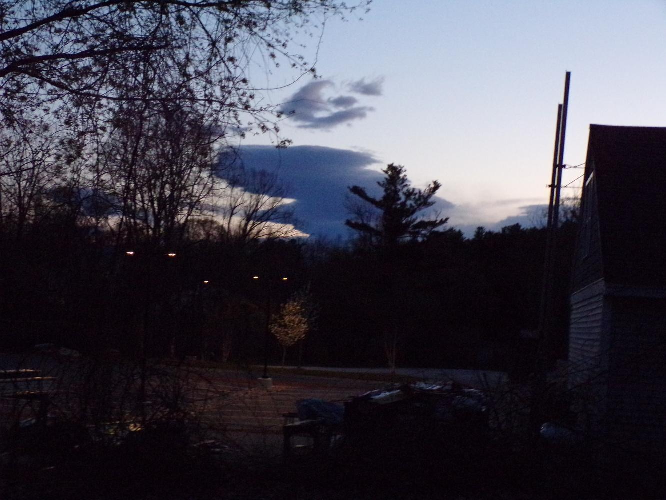 Blue hour cloud by Tammy Higgins