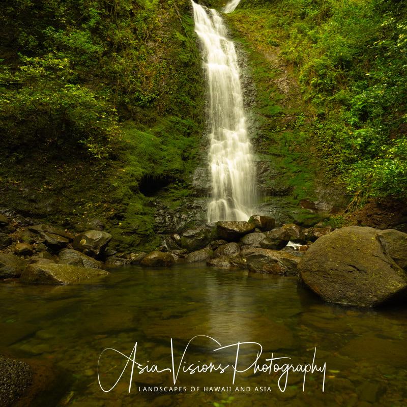 Lulumahu falls, O'ahu, Hawaii by Paul Chick