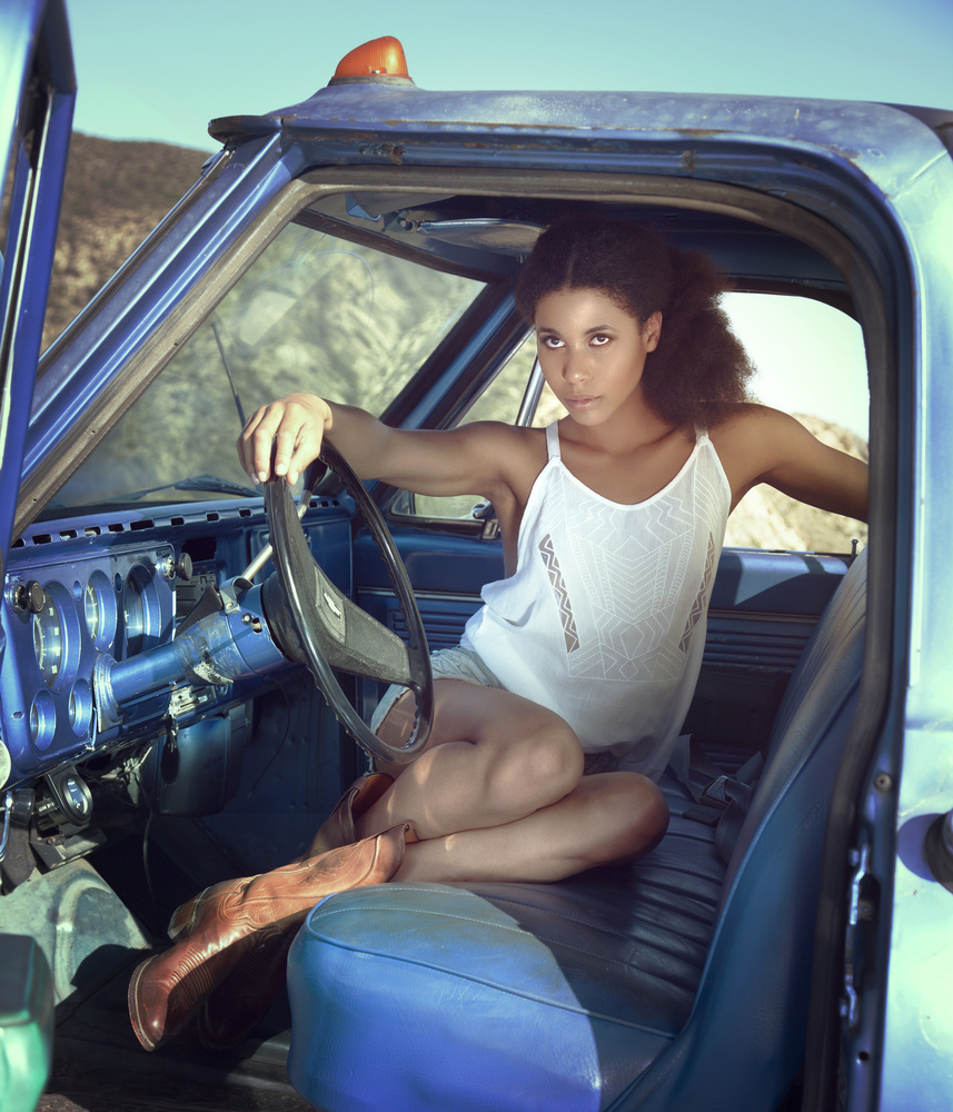 It's a girl my Lord in a flatbed Ford by Nick Myshkin