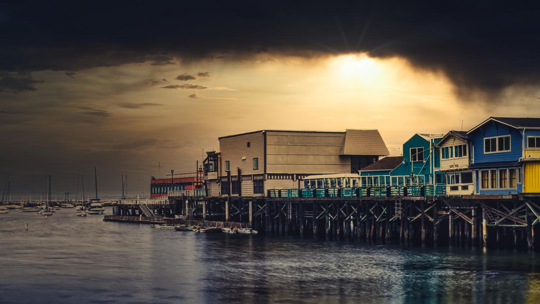Wharf by Joe Burdick