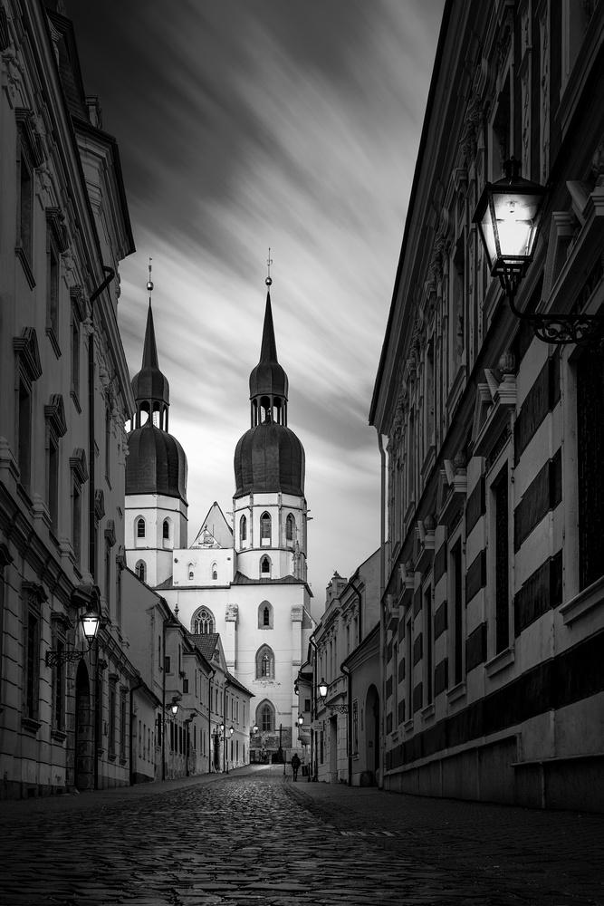 In streets by Tomas Haluska