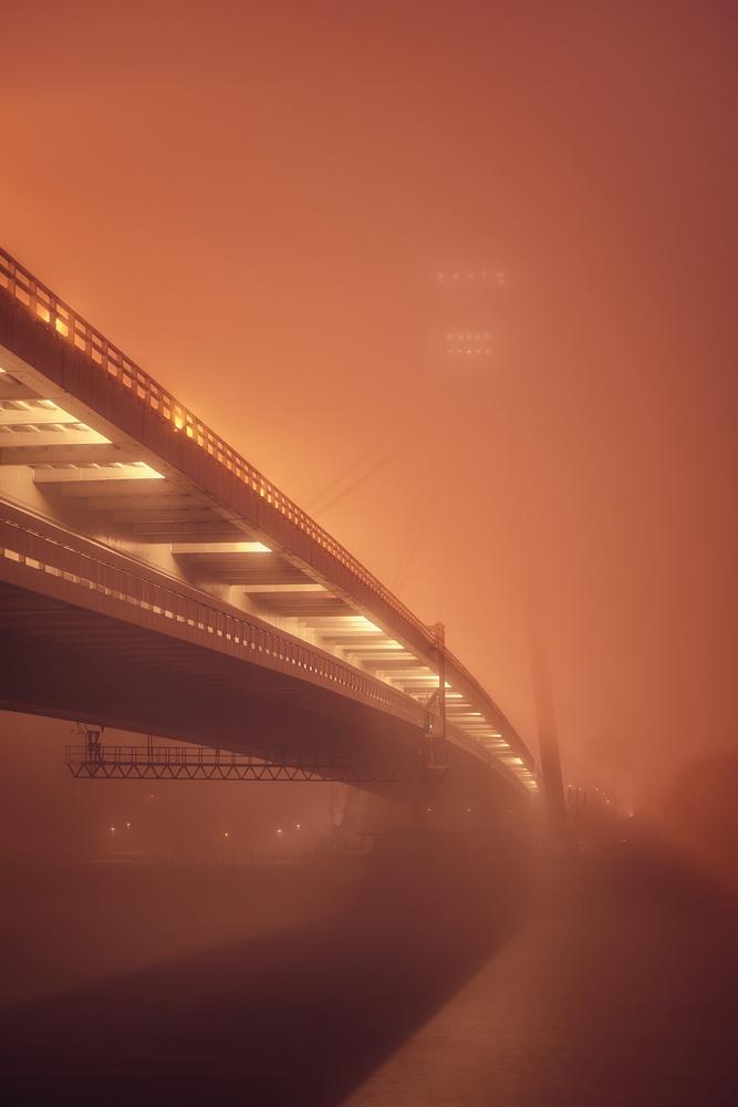 fog vs bridge by Tomas Haluska