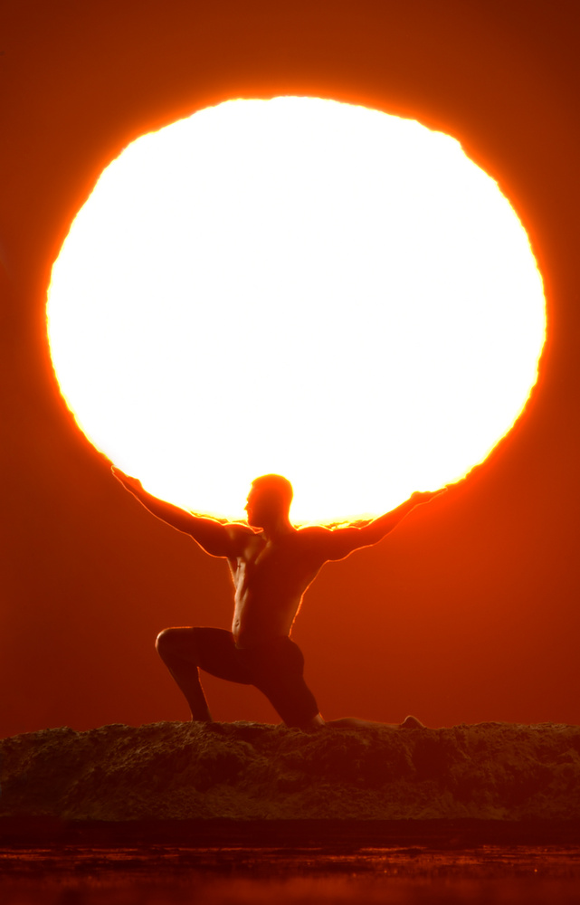 Atlas and the Sun by David Strauss
