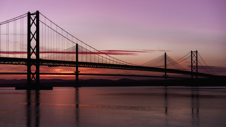 Forth Road Bridges by Kevin Skeldon