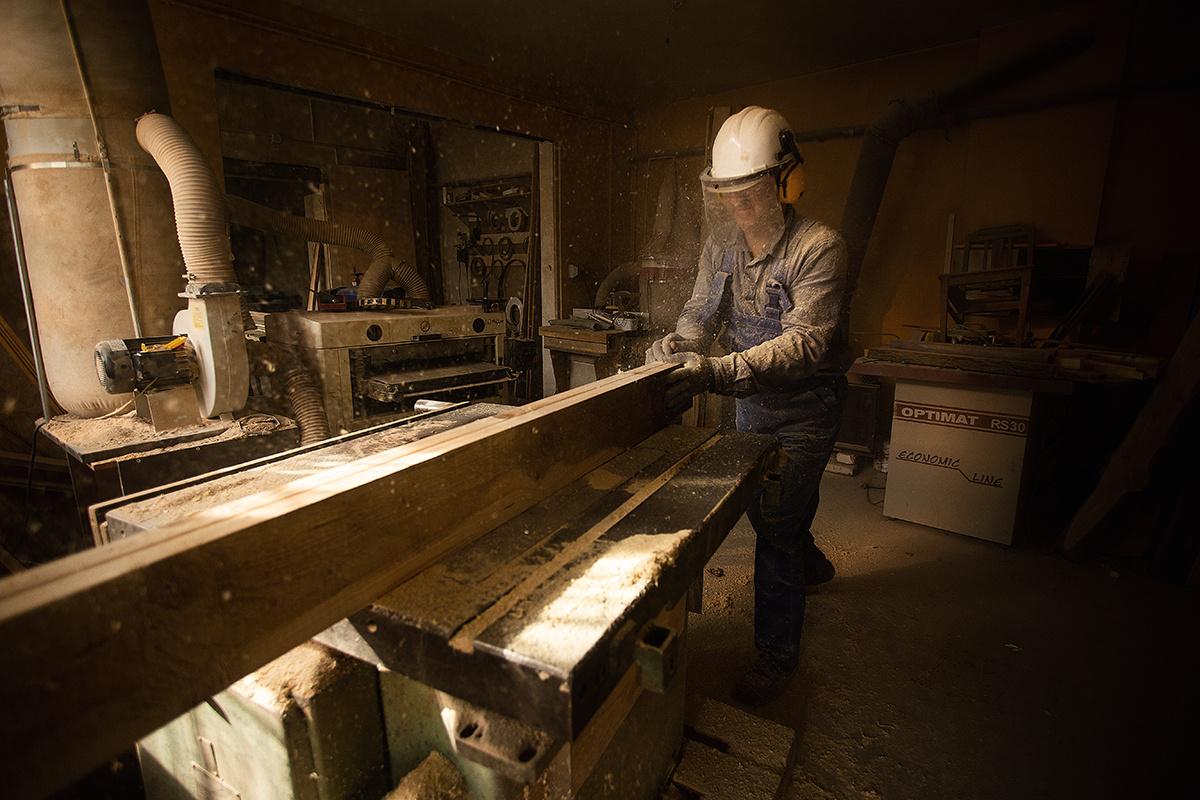 Carpenter by Filip Kowalkowski