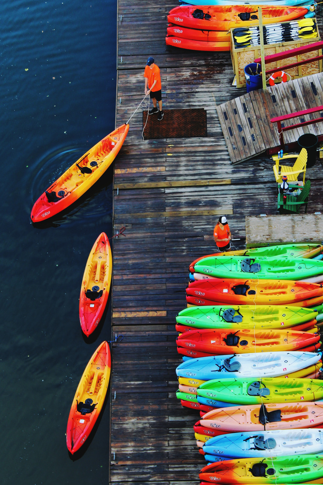 Prepping for Kayakers by Bruce Grant