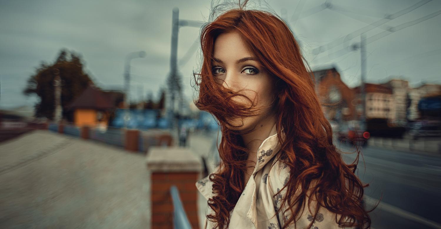 Ginger girl by Damian Piórko
