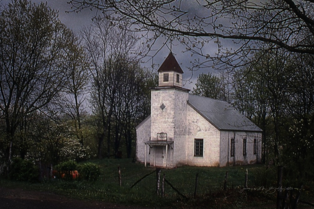 Country Church by James Zuffoletto