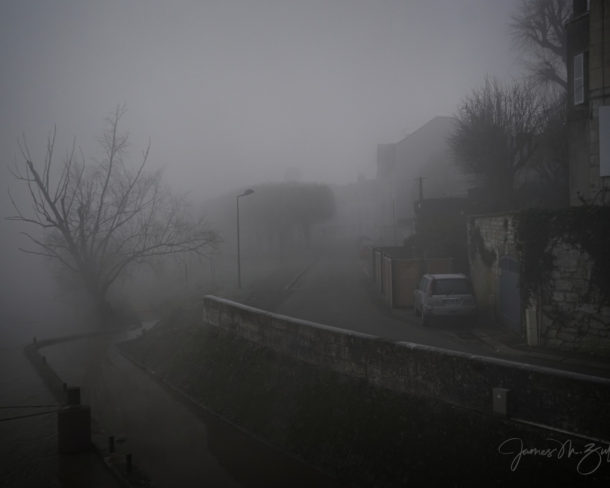 Foggy France by James Zuffoletto