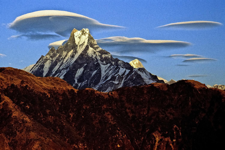 The Machapucharé seen from Poon Hill by Rémi Bridot