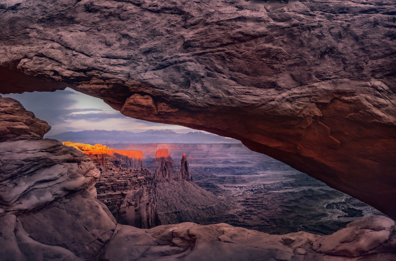 Mesa Arch by Brian Adamson