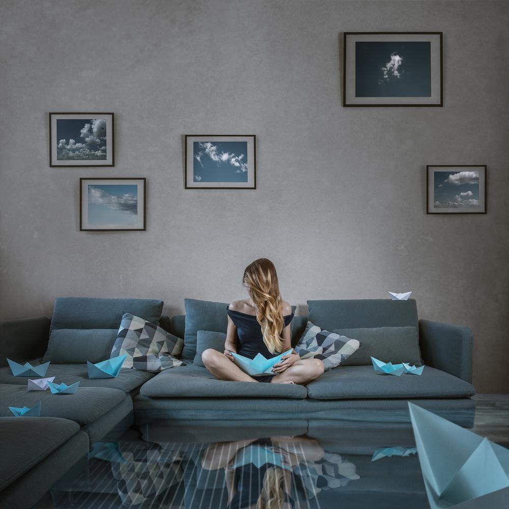 Dreaming in Blue by Teodora Dimitrova