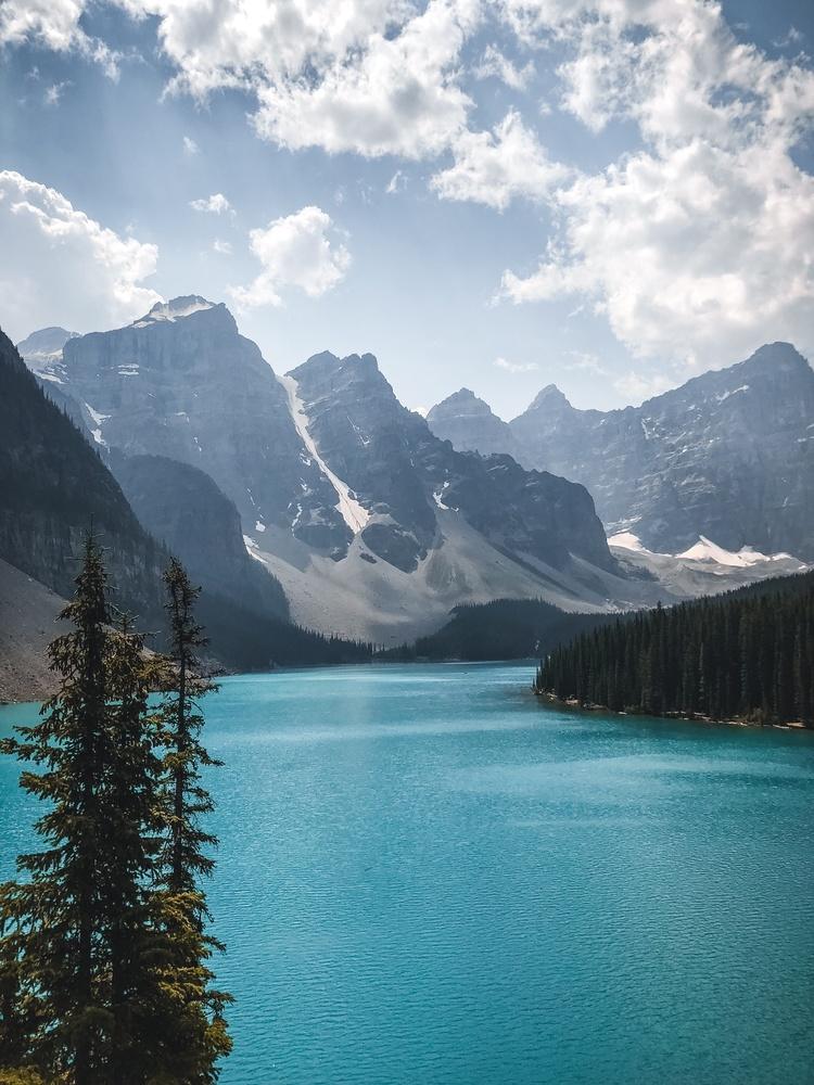Moraine Lake, Alberta, Canada by Prince Randhawa