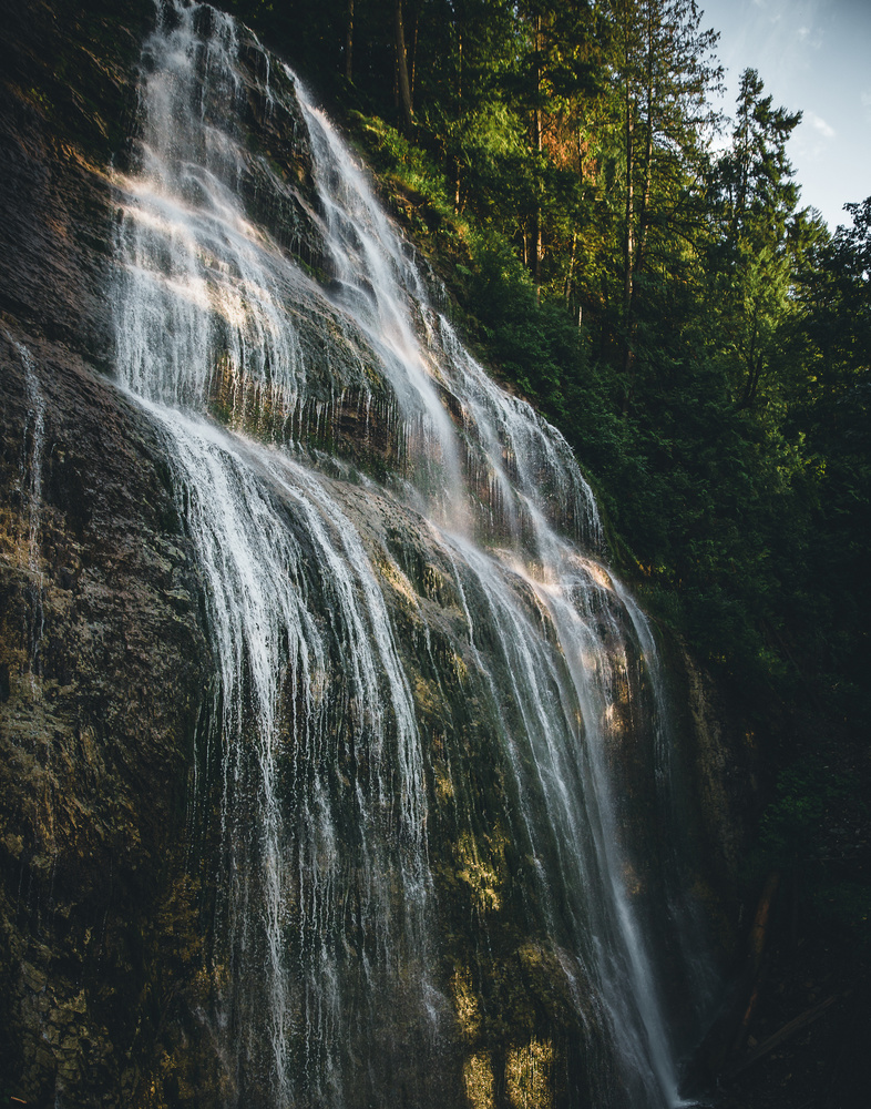Bridal Veil Falls, Chilliwack, Canada by Prince Randhawa