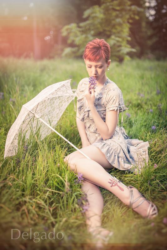 Brea in the Meadow by Dave Nunez-Delgado