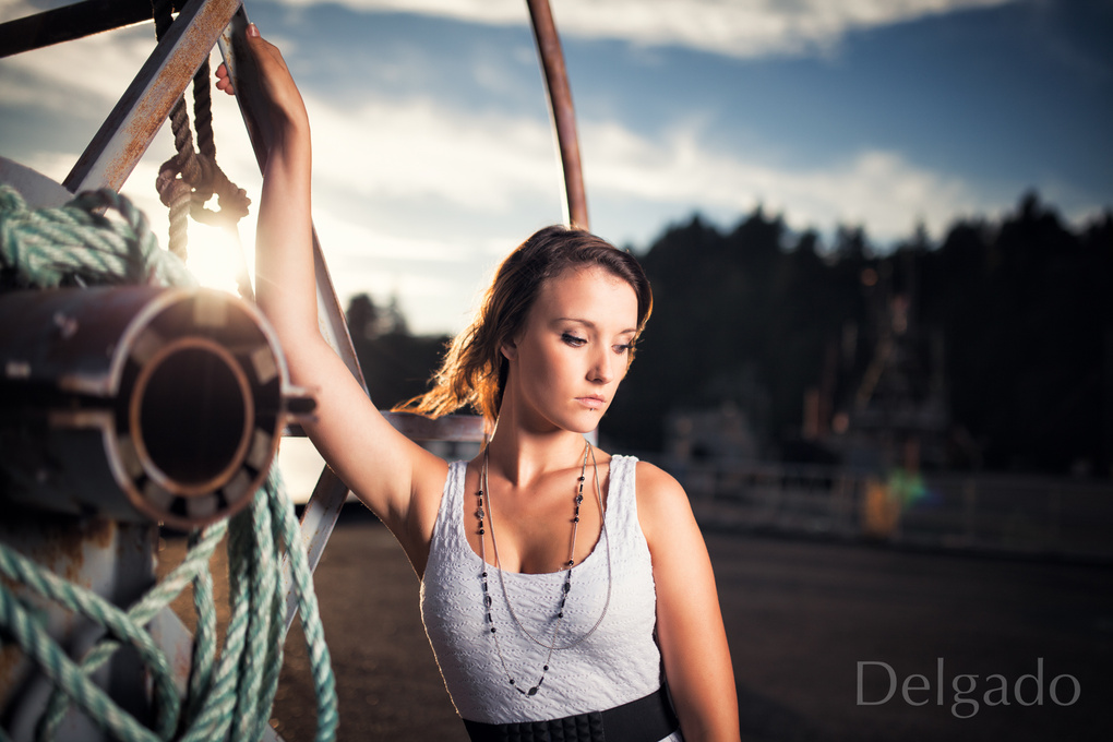 Mandy at the Biostation by Dave Nunez-Delgado