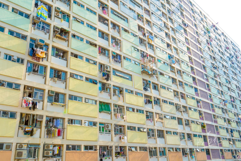 Rainbow building by Ko Eto